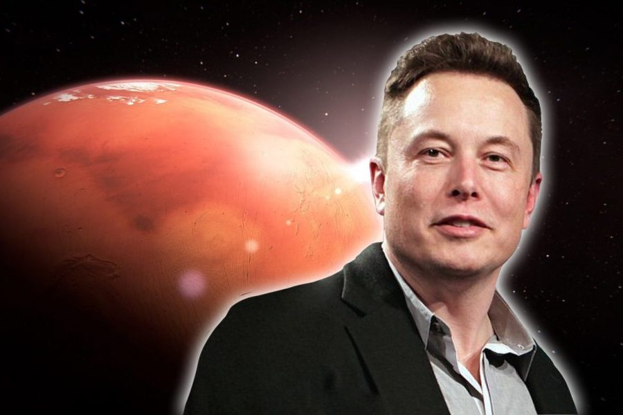 Elon Musk is one of the three richest people on the planet